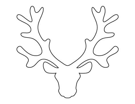 pin by heather brown on templates pinterest reindeer templates