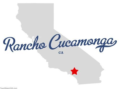Map Of Rancho Cucamonga California Ca Rancho Cucamonga City By