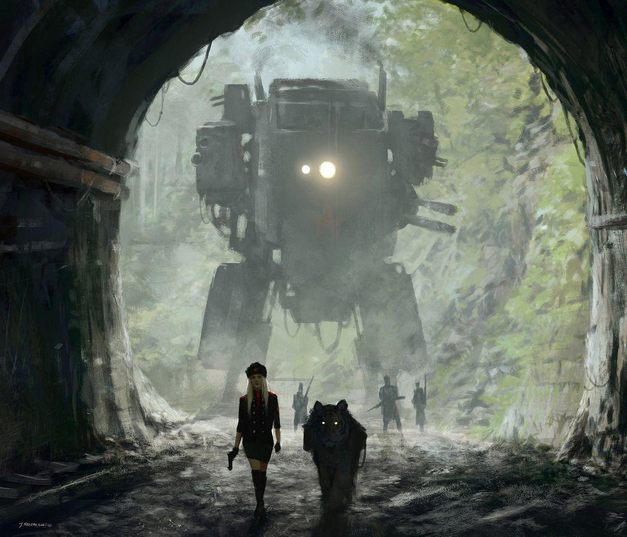 #futuristic #robots #digitalart #digitalpainting #apocalyptic