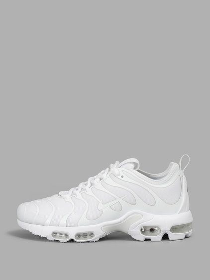 new concept a3b01 57bdc NIKE Nike WomenS White Air Max Plus Tn Ultra Sneakers. nike shoes  sneakers