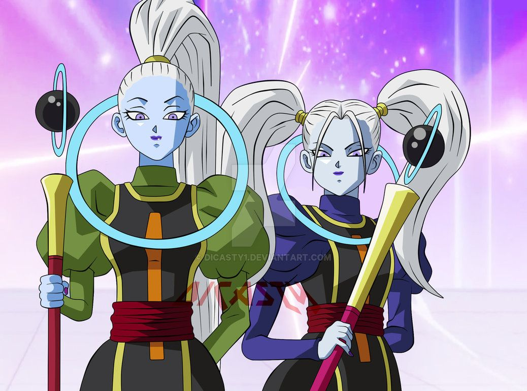 Dragon Ball Super Whis Sister