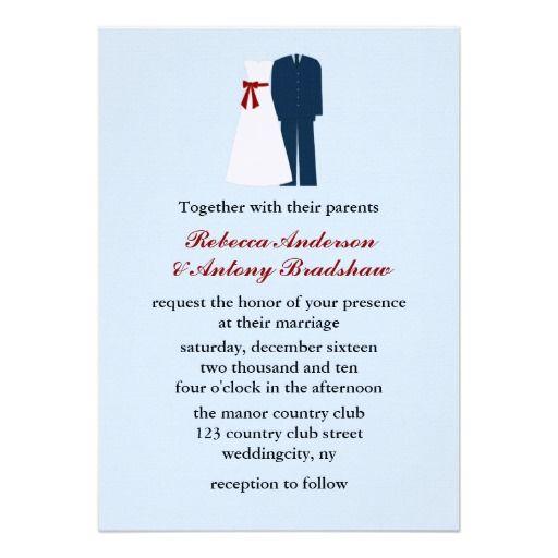 Army Dress Uniform And Bridal Gown Military Wedding Invitations Militarywedding Armywedding