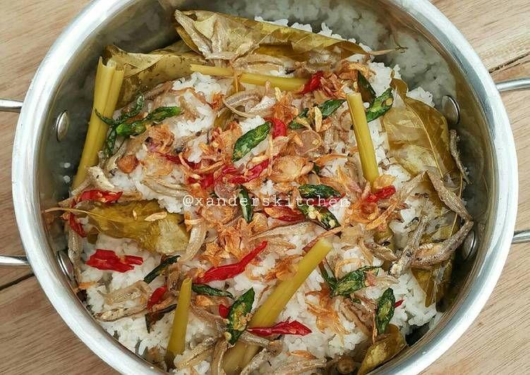 Resep Nasi Liwet Teri Oleh Xander S Kitchen Resep Resep Resep Makanan Sehat Resep Masakan