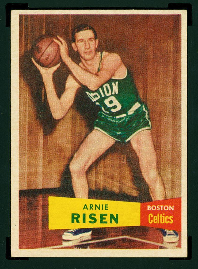 Arnie risen 19 195558 boston celtics players boston
