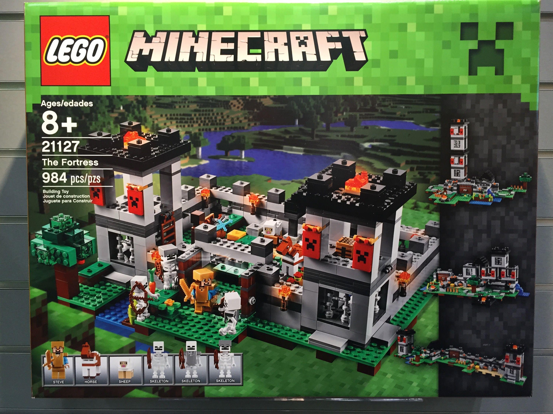 Lego Minecraft The Fortress 21127 Box Jamar Pinterest 21133 Witch Hut