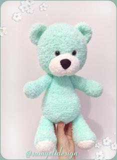 Samyelinin Örgüleri: Amigurumi Big Bear (Free Pattern) - ENGLİSH #bears