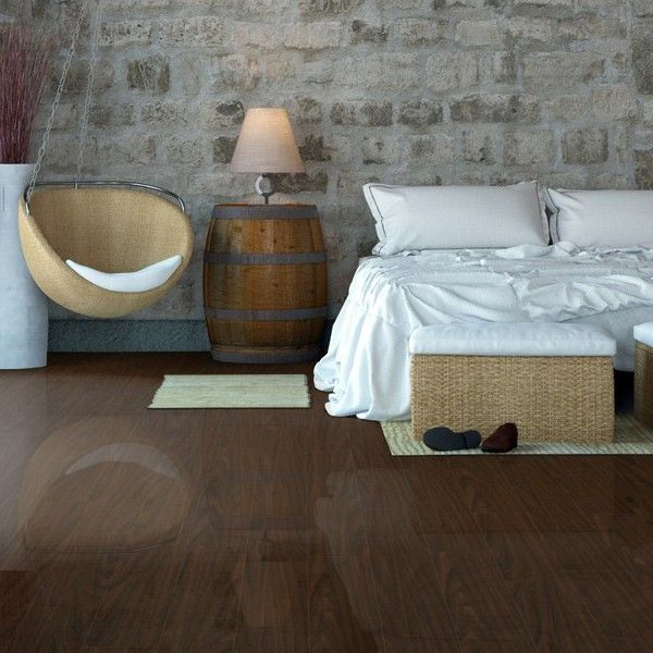 Maldives Tropical Gloss Laminate Flooring 12mm