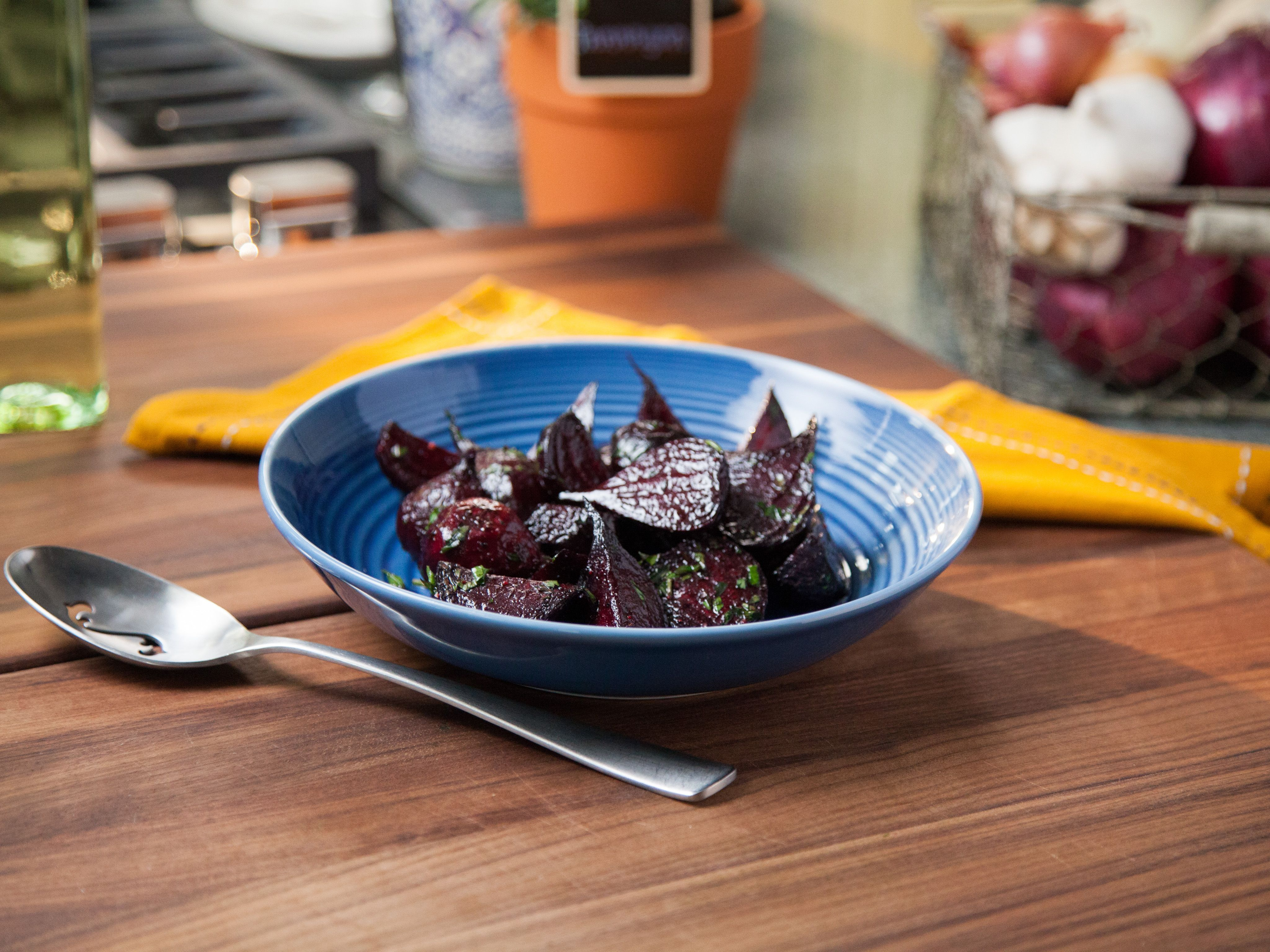 Roasted beets with herbs recipe valerie bertinelli herb get this all star easy to follow roasted beets with herbs recipe forumfinder Choice Image