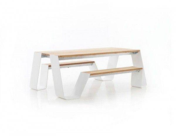 Hopper Picnic 180 Gartenmobel Design Gartentisch Und