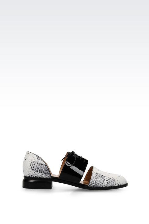 Armani Chaussure Emporio Lacets MtbXOvw