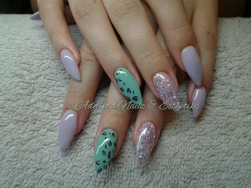 Day 220 wild jordan almond nail art japanese professional nail what is with extra pointy nails do you have to wear gloves at night to keep from injuring yourself in your sleep solutioingenieria Images