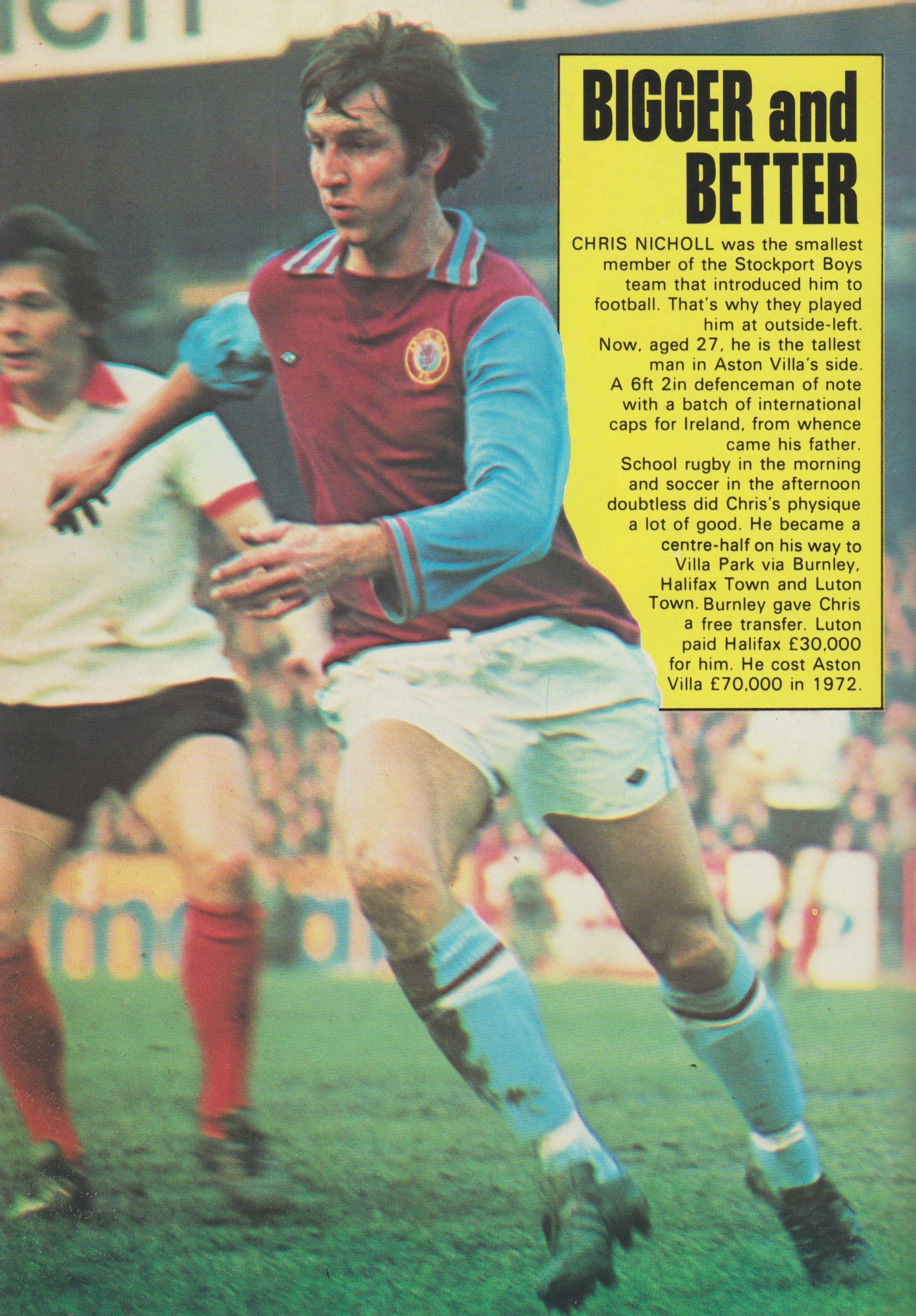 Pin On Aston Villa 1970 S 80 S Footballers