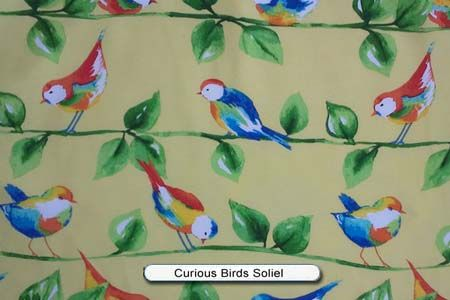 Curious Birds Soleil Sling Furniture Outdoor Fabric Patio Drapes