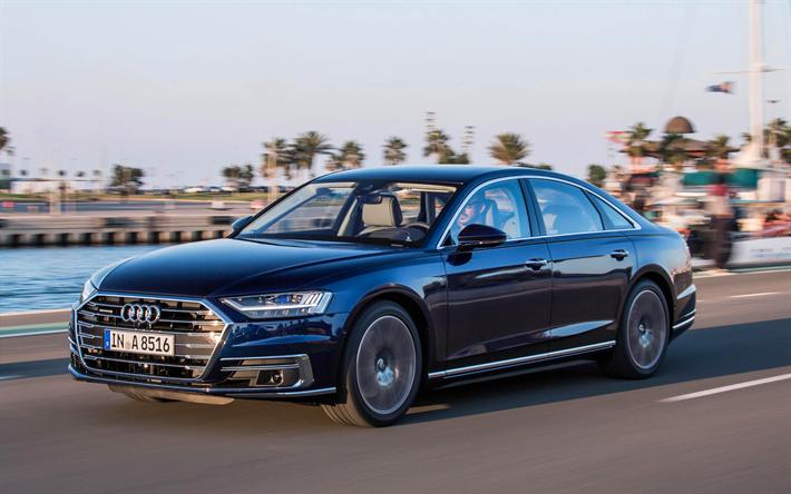 Descargar Fondos De Pantalla 4k, Audi A8, 2019 Coches, El