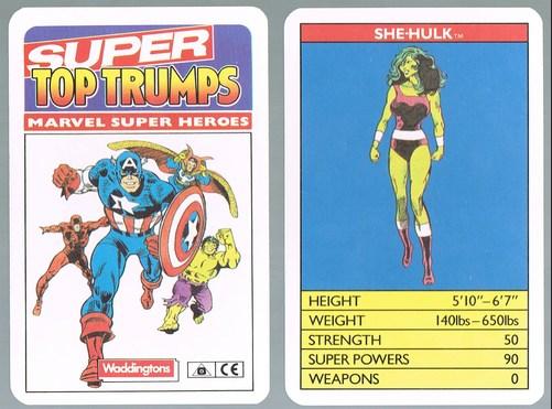 Image result for marvel super top trumps