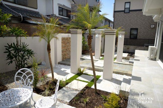 バリ風高級リゾートガーデン アジアンテイストな庭 庭 庭 づくり
