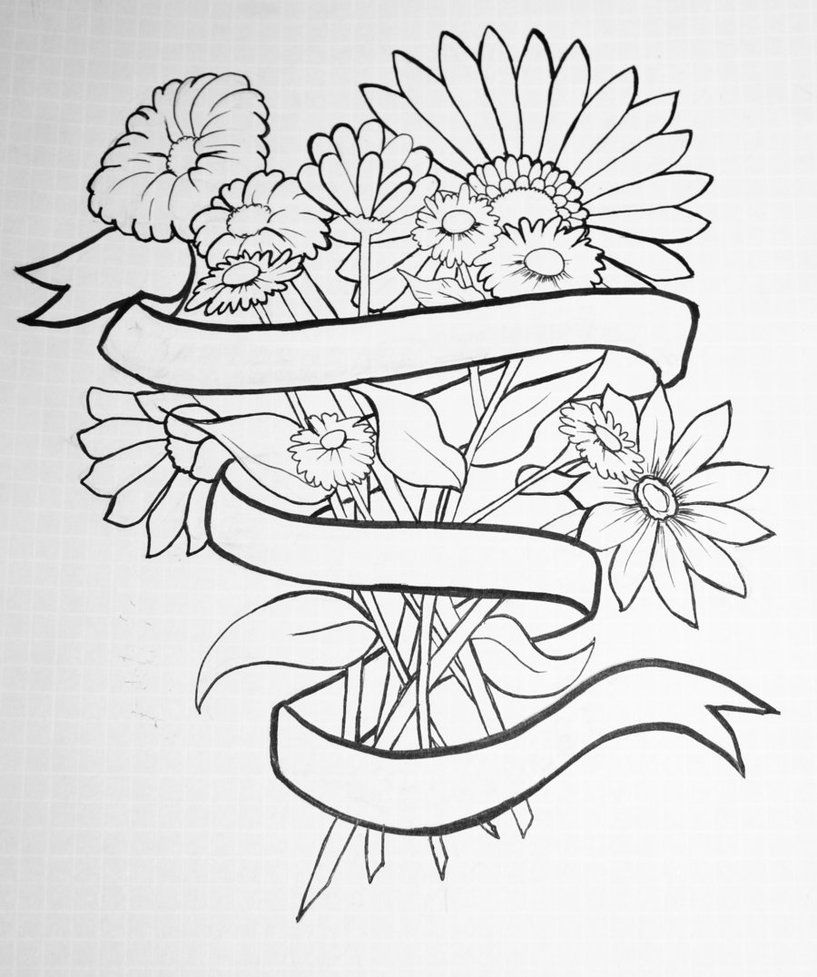 Flower tattoo drawings creative commons attribution noncommercial flower tattoo drawings creative commons attribution noncommercial 30 license izmirmasajfo