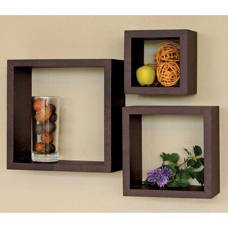 3 Piece Cubby Wall Shelf - Walmart com   Home sweet home