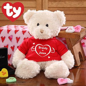 I Love You Personalized Heart Teddy Bear Cute Valentines Day Gifts Cute Teddy Bear Pics Valentines Day Bears