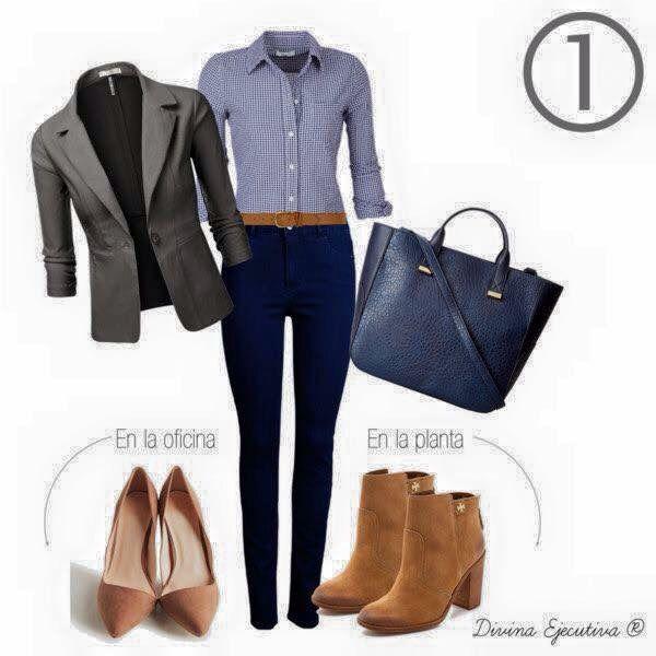 Outfits Oficina | Outfits Oficina | Pinterest | Oficinas Ropa Y Combinaciones