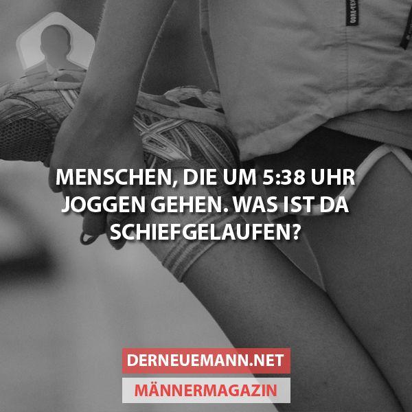 Um 5:38 Uhr joggen #derneuemann #humor #lustig #spaß #joggen