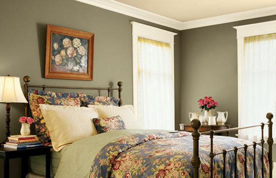 Painting Opposite Walls Different Colors | of house paint ...