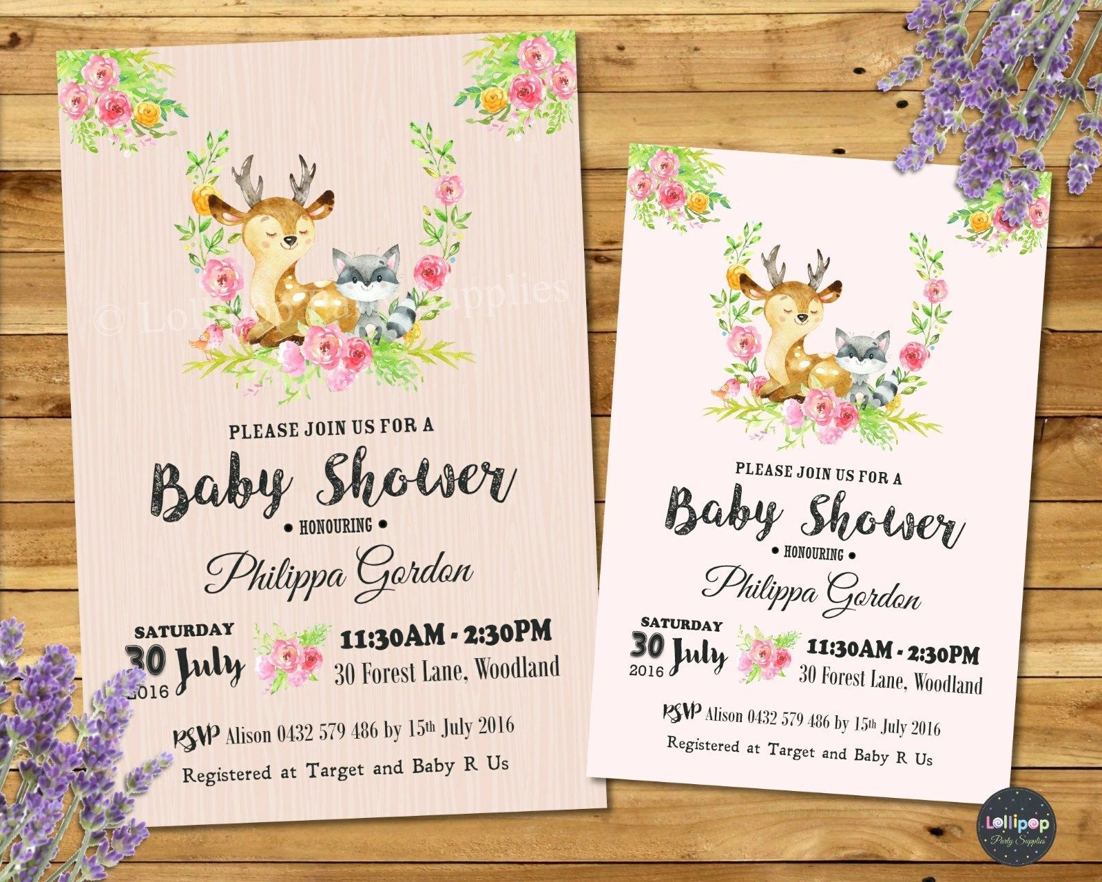 Celebrate The Pending Arrival Of Your Baby Girl With These