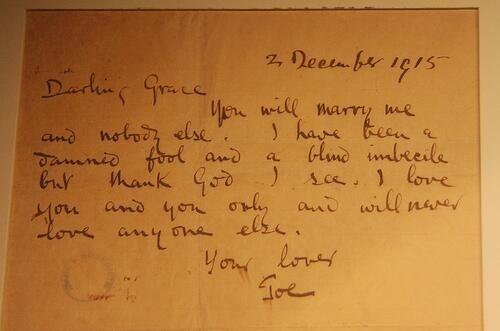 Joseph Plunkett Marriage Proposal To Grace  I Am Of Ireland