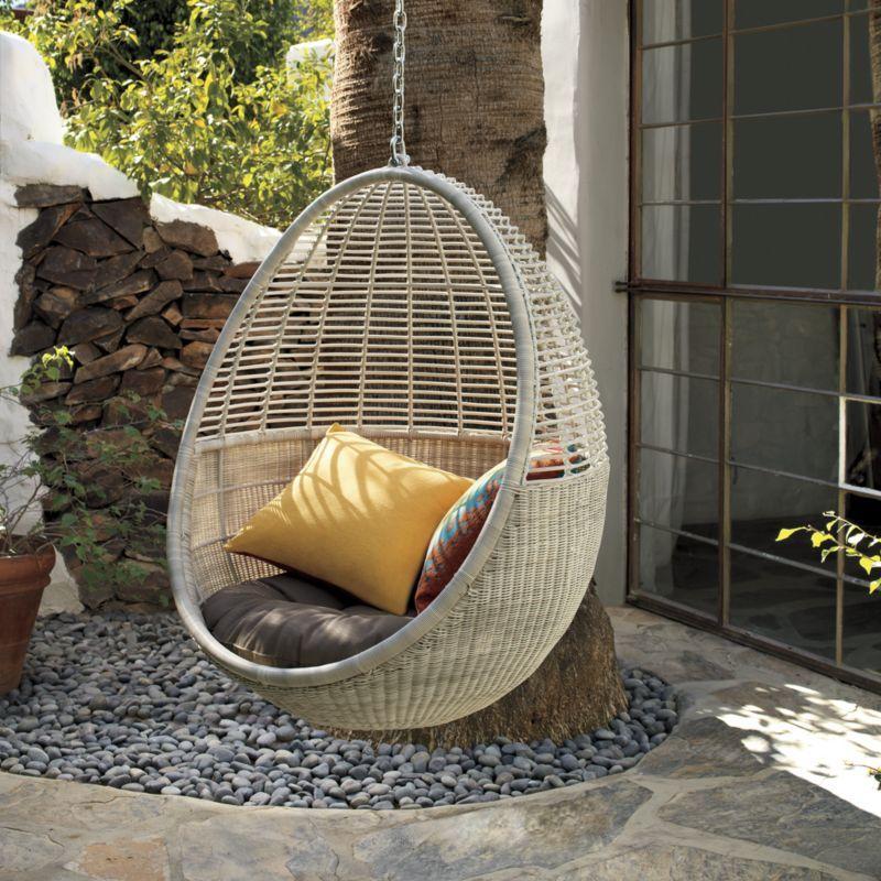 Pod Hanging Chair Cushion Cb2
