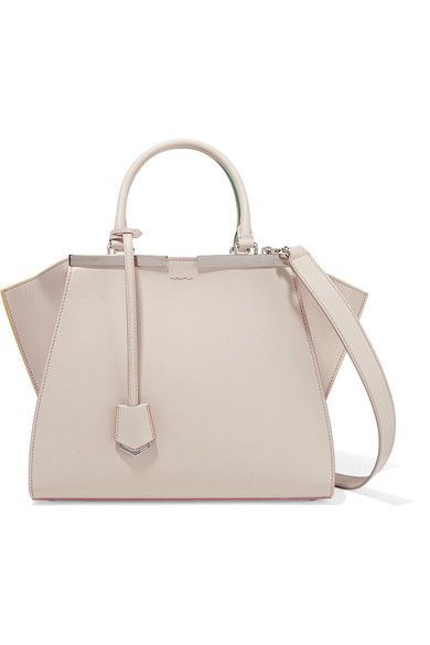 Taupe leather (Calf, Lamb) Zip fastening along top Weighs approximately 2.9lbs/ 1.3kg Made in Italy