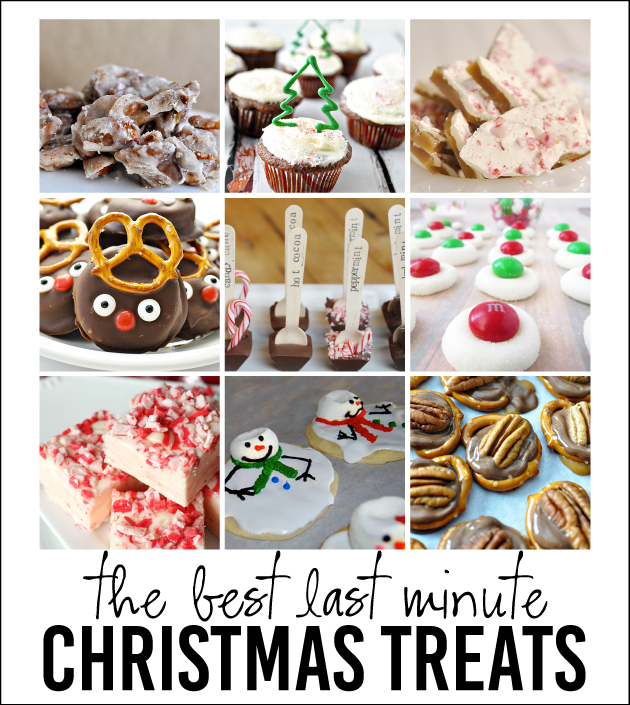 the best last minute Christmas Treats - a little something for everyone! www.thirtyhandmadedays.com