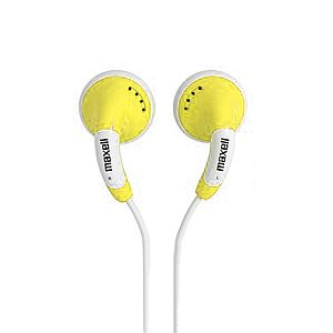 Maxell Color #Buds, Yellow $9.99 From #DayDeal