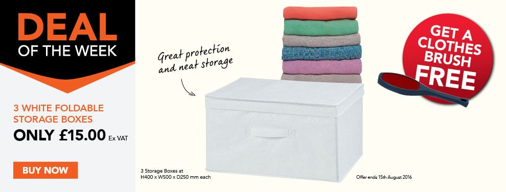 Great deal with free gift on helpful and practical storage