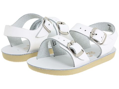 40337a7e0092 Salt Water Sandal by Hoy Shoes Sun-San - Sea Wees (Infant) White -  Zappos.com Free Shipping BOTH Ways