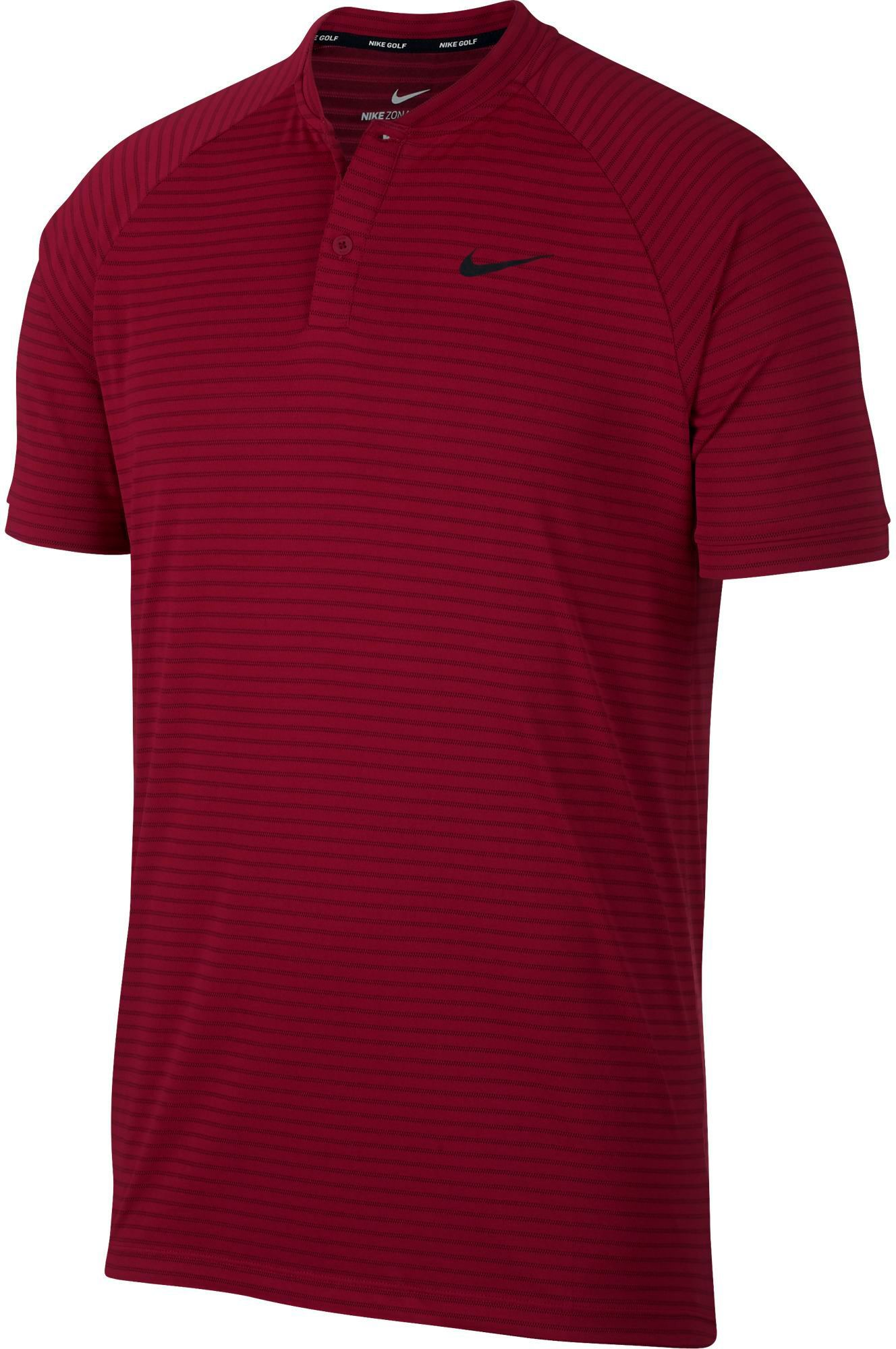 16a7f22c Nike Men's Tiger Woods Thin Stripe Zonal Cooling Golf Polo, Size ...