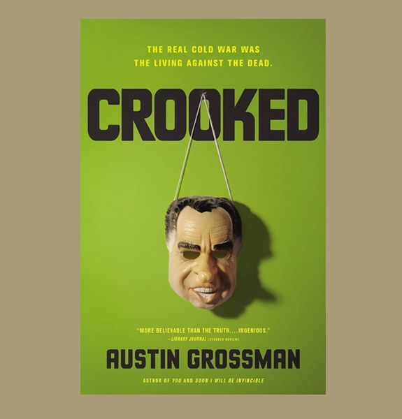 """9 Badass Beach Reads For Your Summer Vacation -  Not sure what to read this summer? We have some suggestions - Crooked - This novel promises to be the """"real story of Watergate,"""" but it's narrated by (a fictional) Nixon, so you know it's bullshit. But oh, what entertaining bullshit!    ... http://scotfin.com/ asks, Is it really a fictional Nixon? Add conspiracy theory here..."""