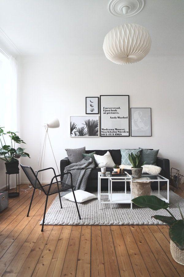 Wohnzimmer Einblick Couch, Sonntag und Wohnzimmer - wohnzimmer ideen minimalistisch