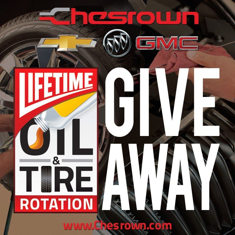 Free Oil Changes and Tire Rotations for Life for one lucky