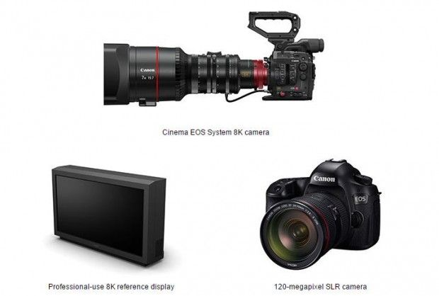 Canon Announced 120MP Full Frame DSLR and 8K Cinema EOS Camera and ...