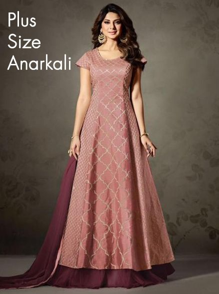 f92a3ea3870 plus size anarkali Gravityfashion.com