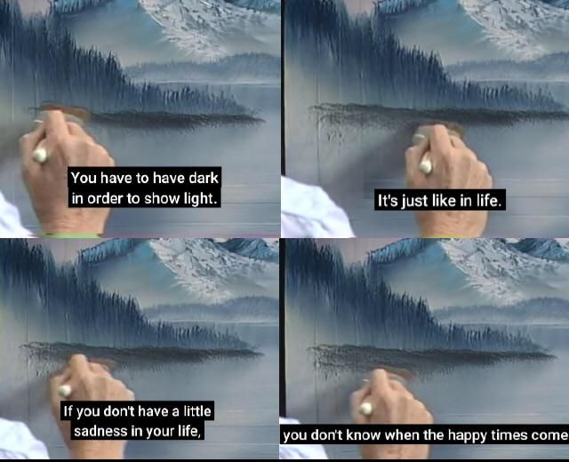 Words By Bob Rosss In 2020 Bob Ross Quotes Bob Ross Ross
