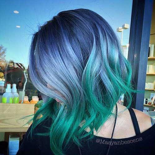 Bob Hair Color Pics You Should See Boyali Sac Parlak Saclar