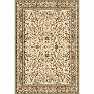 Luxury Traditional Persian Carpet Green Hali Rug