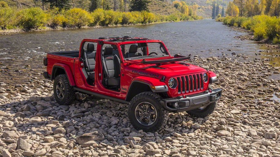2020 Jeep Gladiator pickup truck's full specs and photos