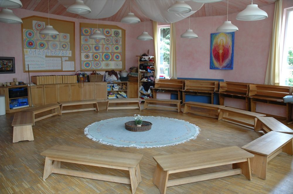 The open and natural feel of this classroom rudolf steiner schule ...