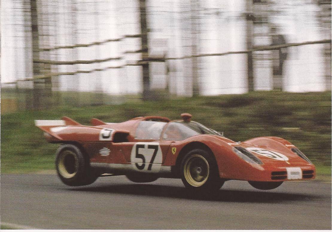 Arturo Mezario 1000 Km Nurburgring 1973 Ferrari 512 S Sports