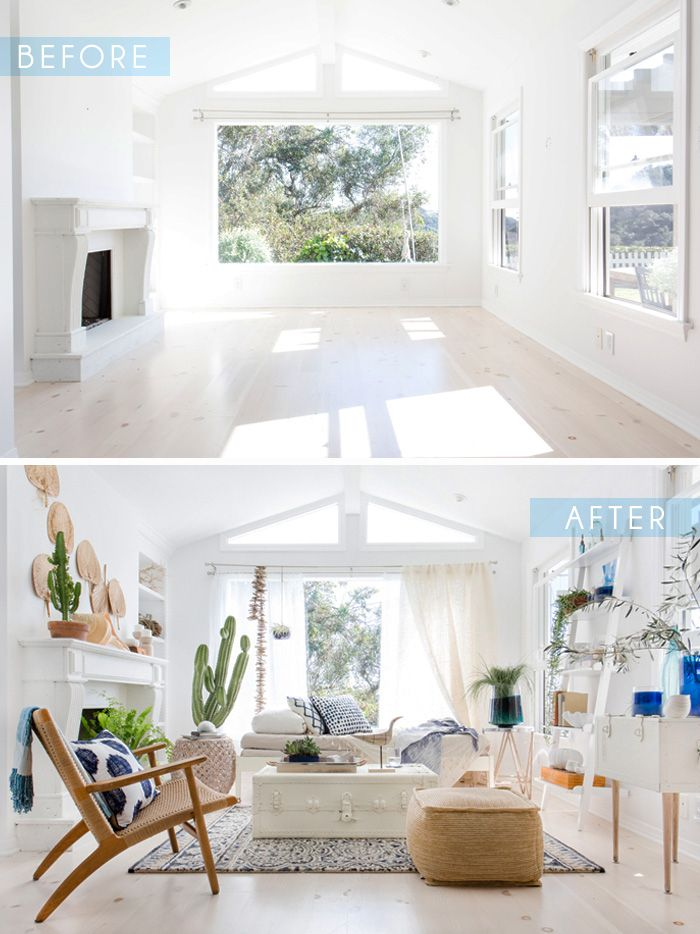 Target Living Room Furniture: Blue And White Sunroom - With Target