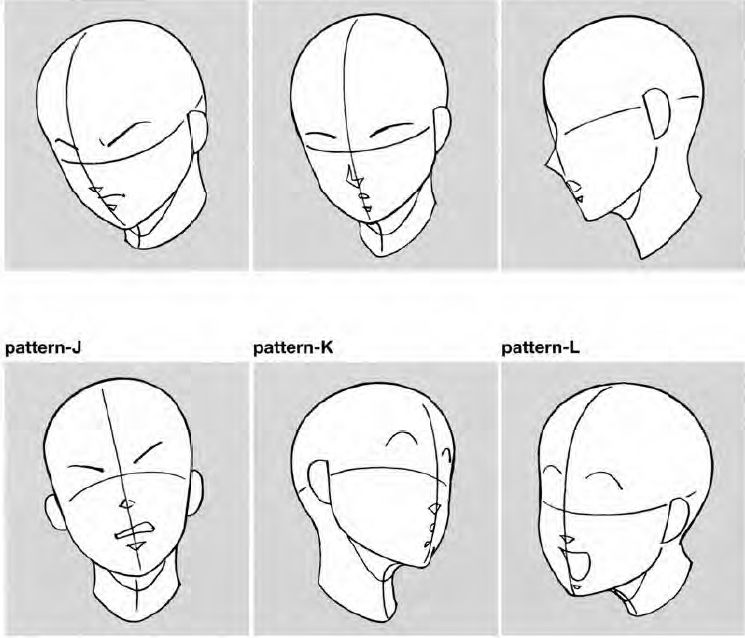 Head Angles By Kcsteiner On Deviantart Face Angles Anime Head Manga Drawing