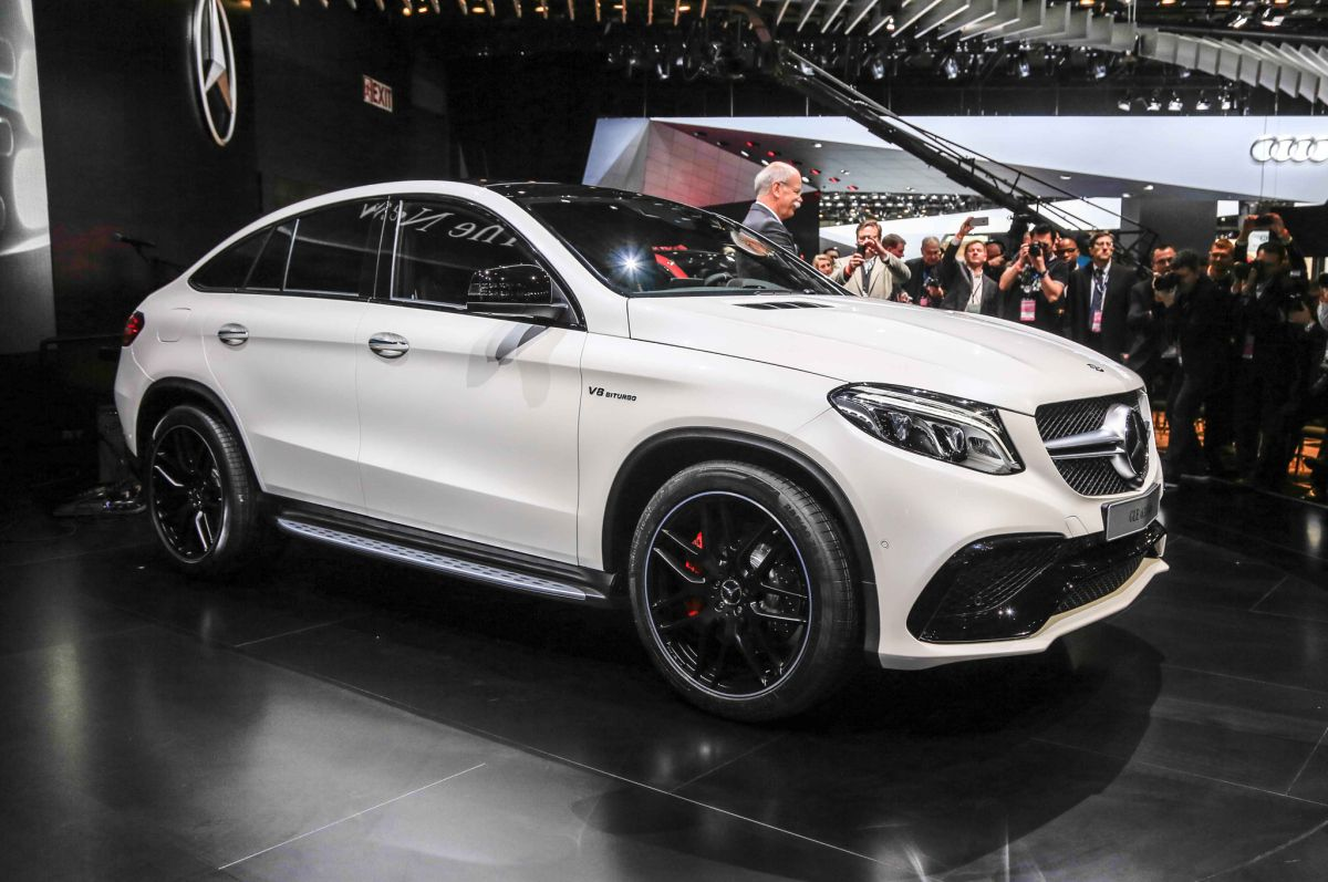 2016 Mercedes Amg Gle 63 S Coupe First Look With Images