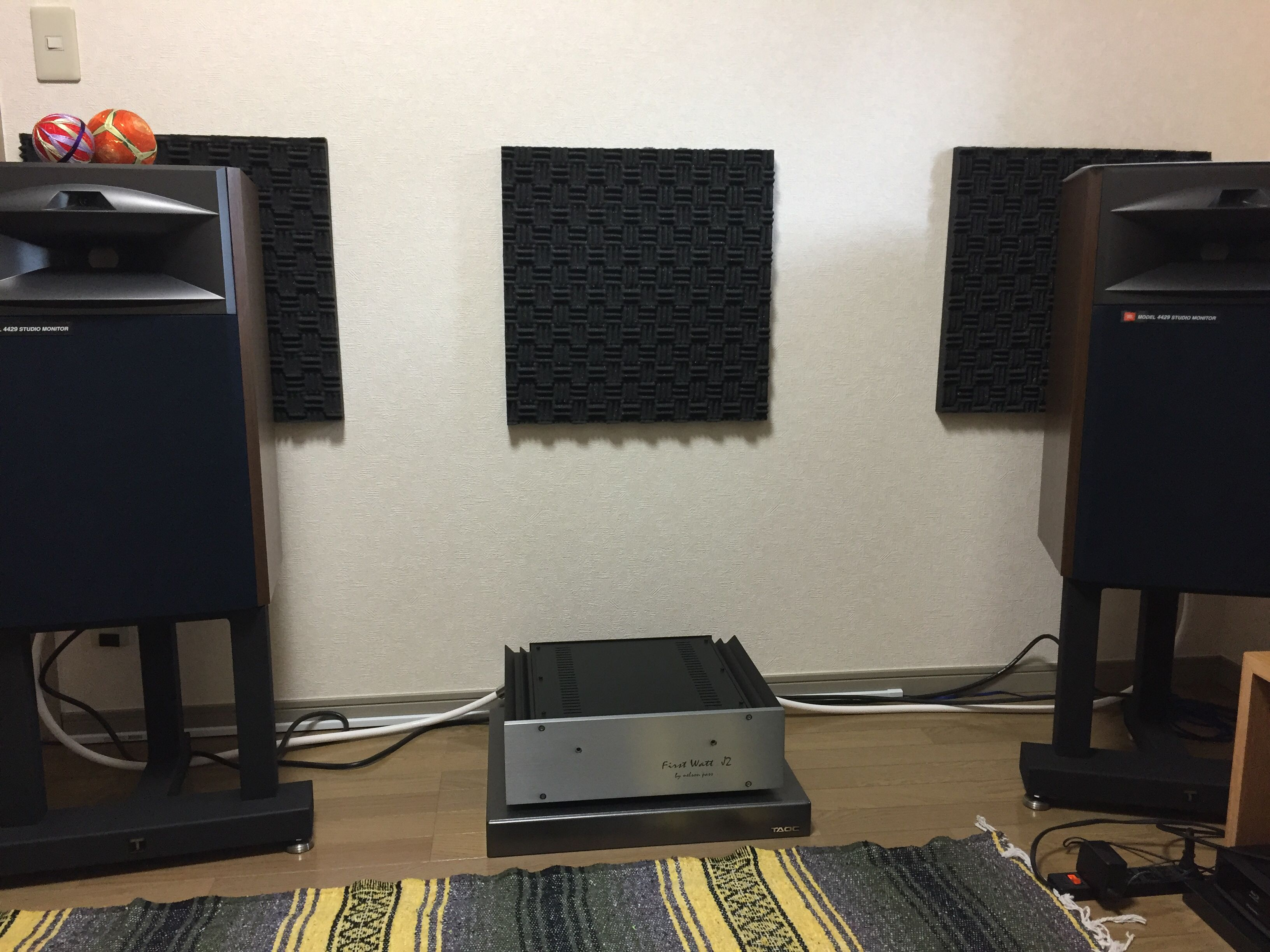 JBL & Firstwatt J2 | My audio system